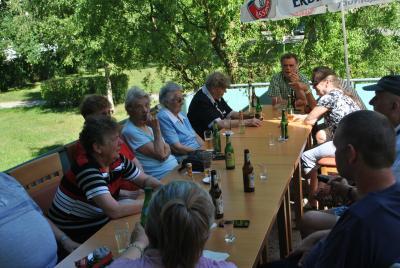 Vorschaubild zur Meldung: Grillfest altengerechtes Wohnen in Perleberg