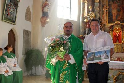 Foto zur Meldung: Pfarrer Josef Drexler kann heuer sein 15-jähriges Priesterjubiläum begehen