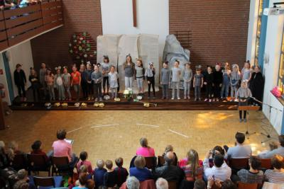 Foto zur Meldung: Musical-Aufführung in der Kirche