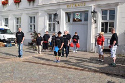 Vorschaubild zur Meldung: Präsentation der AWO Prignitz auf dem Pritzwalker Marktplatz
