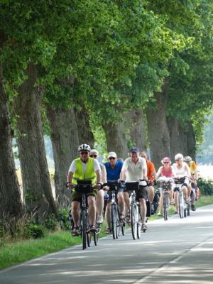 Vorschaubild zur Meldung: Alleen-Radtour im Landkreis Harburg war ein Erlebnis!
