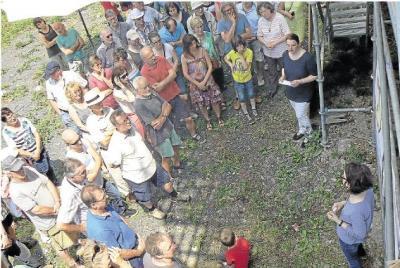 Foto zur Meldung: Ortsgemeinde: Burg Schwalbach gibt Forschern noch immer einige Rätsel auf