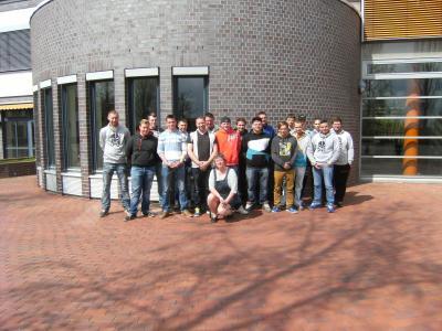 Foto zur Meldung: Exkursion der Klasse LW 2 zur Agrargenossenschaft Potzlow