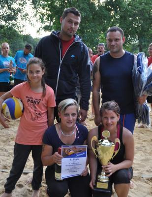 Foto zur Meldung: Kubschützer Sportfreunde gewinnen 8. Kreckwitzer Beachvolleyballturnier