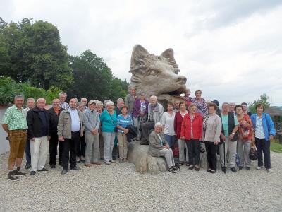 Foto zur Meldung: Senioren fuhren ins Nachbarland – Pfarrer Josef Drexler fungierte als Führer und Dolmetscher