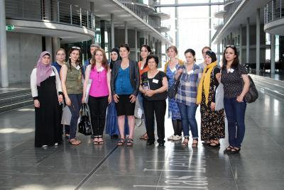Foto zu Meldung: Interkultureller Frauentreff Dresden diskutiert Einwanderungsgesetz