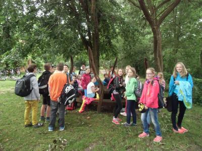 Foto zur Meldung: Radtour der Klassen 5 und 6