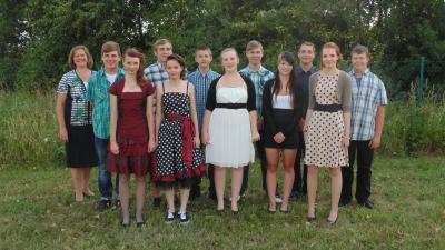 Foto zur Meldung: Abschlussfeier der Klasse 10