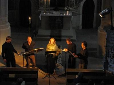 Foto zur Meldung: Abendliches Konzert mit Vokalmusik