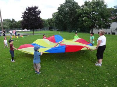 Foto zur Meldung: Sommersportfest auf den Freiheiter Höhen