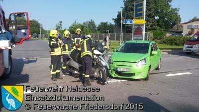 Am Unfall beteilligte Fahrzeuge