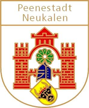 Foto zur Meldung: Information der Peenestadt Neukalen: