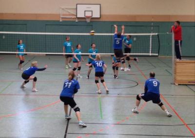 Foto zur Meldung: Volleyball - Mixed Leistungsklasse