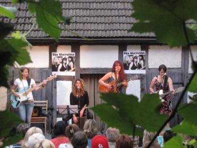 """Foto zur Meldung: HOFKONZERT mit """"The Shevettes"""" aus Berlin"""