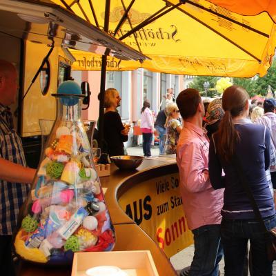 Foto zur Meldung: Unser Schätzspiel vom Stadtfest 2015