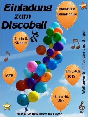 Vorschaubild zur Meldung: Discoball: 1., 2. und 3. Klasse