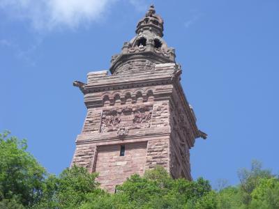 Blick auf das Denkmal