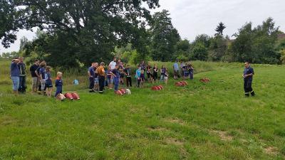 Foto zur Meldung: 20 Jahre Jugendfeuerwehr Dahnsdorf