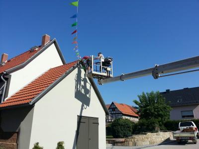 Foto zur Meldung: Der Festputz - ein Erfolg!