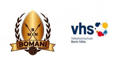 Vorschaubild zur Meldung: Flüchtlingsprojekt des SC Bomani Berlin e.V. in Kooperation mit der VHS Mitte Berlin