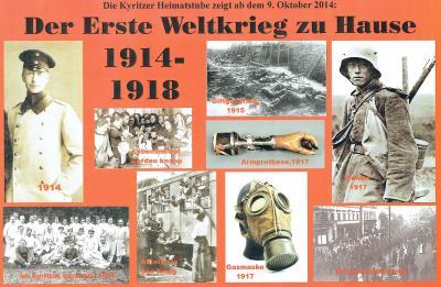 Foto zur Meldung: Der erste Weltkrieg zu Hause 1914 - 1918