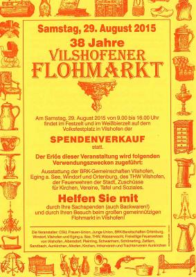 38. Vilshofener Flohmarkt