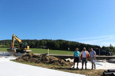 Foto zu Meldung: Beginn der Straßenbauarbeiten