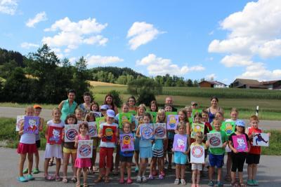 Foto zur Meldung: Dorfverein aktiv beim Ferienprogramm