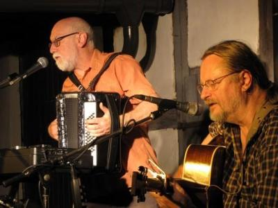Foto zur Meldung: HOFKONZERT mit Alan Reid und Rob van Sante