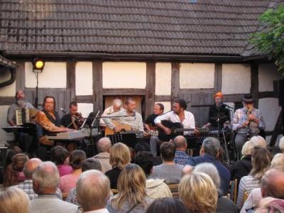 Foto zur Meldung: Hofkonzert der Liedertour Leipzig