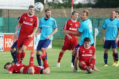 Foto zu Meldung: Landesliga: FC Vorwärts - ASV Veitsbronn-S. 1:1 (1:1)
