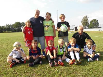 Foto zu Meldung: Ferienaktion beim FC Vorwärts