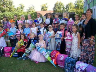 Foto zur Meldung: Schulanfang 2015 - Willkommen