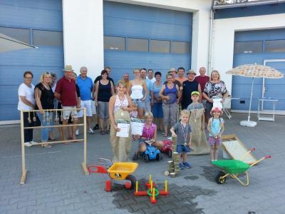 Foto zur Meldung: Dorfverein veranstaltet erste Olympiade