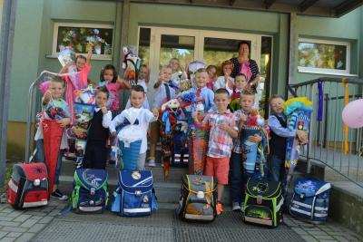 Foto zu Meldung: Einschulung 2015/16 an der Grund- und Oberschule Schenkenland Groß Köris