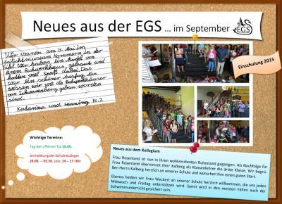 Foto zur Meldung: Flyer des Monats September 2015