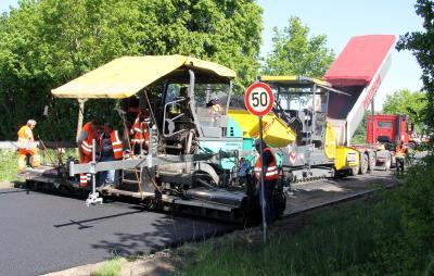 Foto zur Meldung: Erneuerung der B430