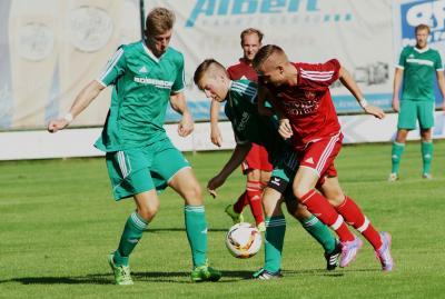 Foto zu Meldung: Landesliga: TSV Kornburg - FC Vorwärts 4:1 (0:1)