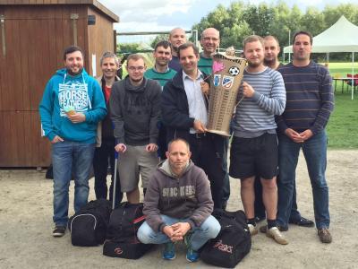Foto zur Meldung: SUS Pohnsdorf gewinnt Spiel um den Supersaupokal 5:1