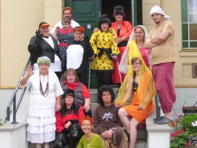 Vorschaubild zur Meldung: Auftritt der Theatergruppe der AWO-Arche Prignitz gGmbH