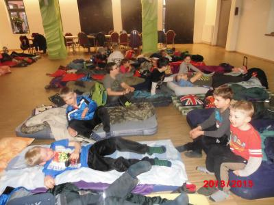 Foto zur Meldung: Groß Laasch - DVD Nacht für Kinder