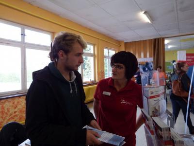"""Vorschaubild zur Meldung: 10. """"Jobstart-Messe"""" in Wittstock/Dosse"""