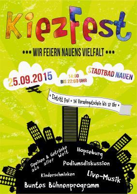 Das Nauener Kiezfest am 25.09.2015