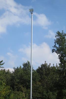 Foto zur Meldung: Sanierung der Flutlichtanlage auf dem Pohnsdorfer Sportplatz abgeschlossen