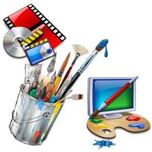 Vorschaubild zur Meldung: Digitale Projekte: Schüler bei der Arbeit