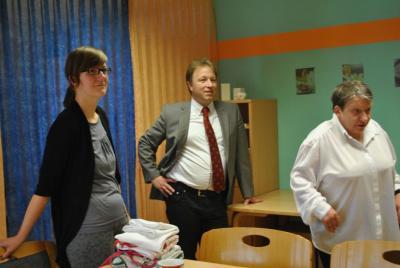 Vorschaubild zur Meldung: Besuch des Bundestagsabgeordneten Sebastian Steinicke