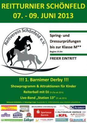 Sponsoren des 3.Reitturniers in Schönfeld