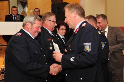 Vorschaubild zur Meldung: Rückblick und Impressionen - Jahreshauptversammlung der Stadtfeuerwehr Landsberg 2013