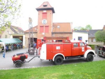 Foto zur Meldung: Tag der Freiwilligen Feuerwehr im OT Frose
