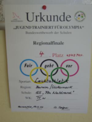 Foto zur Meldung: Regionalfinale Leichtathletik